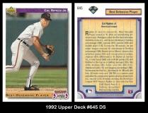 1992 Upper Deck #645 DS