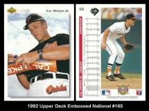 1992 Upper Deck Embossed National #165