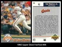 1992 Upper Deck FanFest #36
