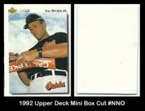 1992 Upper Deck Mini Box Cut #NNO