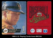 1993 US Playing Cards Aces #WCOA