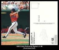 1993 Colla Postcards Ripken Jr. #6