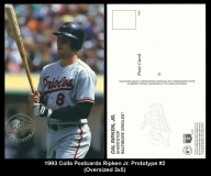 1993 Colla Postcards Ripken Jr. Prototype #2