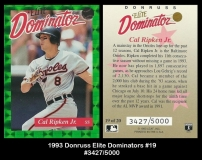 1993 Donruss Elite Dominators #19