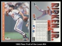 1993 Fleer Fruit of the Loom #54