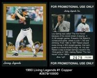 1993 Living Legends #1 Copper