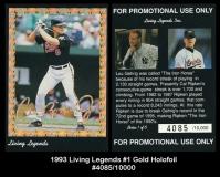 1993 Living Legends #1 Gold Holofoil