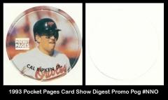 1993 Pocket Pages Card Show Digest Promo Pog #NNO