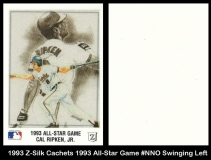 1993 Z-Silk Cachets 1993 All-Star Game #NNO Swinging Left