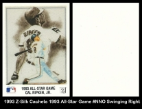1993 Z-Silk Cachets 1993 All-Star Game #NNO Swinging Right