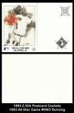 1993 Z-Silk Postcard Cachets 1993 All-Star Game #NNO Running
