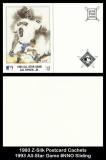 1993 Z-Silk Postcard Cachets 1993 All-Star Game #NNO Sliding
