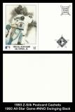 1993 Z-Silk Postcard Cachets 1993 All-Star Game #NNO Swinging Back