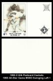 1993 Z-Silk Postcard Cachets 1993 All-Star Game #NNO Swinging Left 1