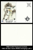 1993 Z-Silk Postcard Cachets 1993 All-Star Game #NNO Swinging Left 2