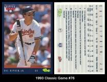 1993 Classic Game #76