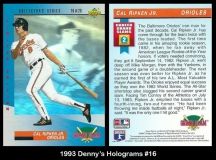 1993 Dennys Holograms #16