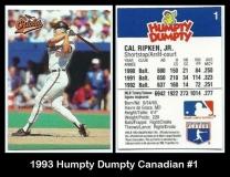 1993 Humpty Dumpty Canadian #1