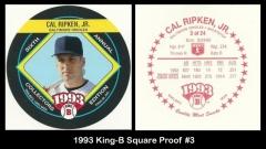 1993 King-B Square Proof #3