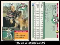 1993 Milk Bone Super Stars #12