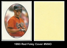 1993 Red Foley Cover #NNO