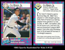 1993 Sports Illustrated for Kids #132