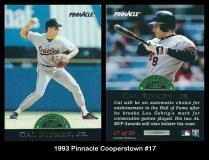 1993 Pinnacle Cooperstown #17