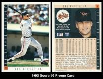 1993 Score #6 Promo Card