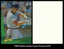 1993 Select Dufex Insert Promos #10