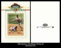 1993 Stadium Club Master Photos #7