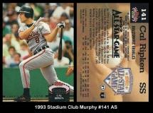1993 Stadium Club Murphy #141 AS