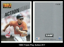 1993 Triple Play Action #17