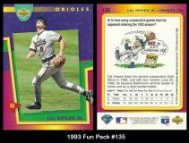 1993 Fun Pack #135