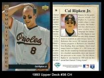 1993 Upper Deck #36 CH