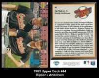 1993 Upper Deck #44