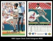 1993 Upper Deck Gold Hologram #585