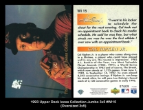 1993 Upper Deck Iooss Collection Jumbo 3x5 #WI15