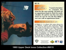 1993 Upper Deck Iooss Collection #WI15
