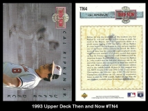1993 Upper Deck Then and Now #TN4