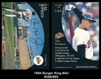 1994 Burger King #AU