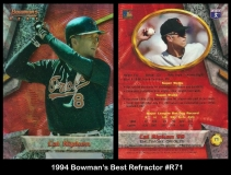 1994 Bowmans Best Refractor #R71