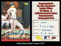 1994-Classic-Au1-Game-1977