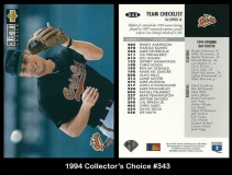 1994 Collectors Choice #343