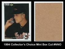 1994 Collectors Choice Mini Box Cut #NNO