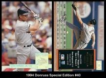 1994 Donruss Special Edition #40