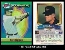 1994 Finest Refractor #235