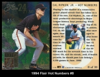 1994 Flair Hot Numbers #8