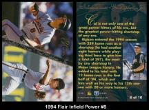 1994 Flair Infield Power #8