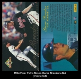 1994 Fleer Extra Bases Game Breakers #24