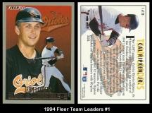 1994 Fleer Team Leaders #1